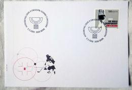 Switzerland 2009. MiNr. 2098. 2009 World Ice Hockey Championship. FDC - Hockey (su Ghiaccio)