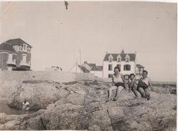 Photo Originale 1933 Le CROISIC Villas - Lieux
