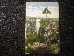 La Panne Cimetière De Nos Braves Jass, 1923, Timbres (E5) - De Panne