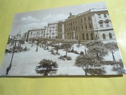 CAGLIARI  - PIAZZA DEL CARMINE E PALAZZO REGIE POSTE - CARTOLINA POST CARD FORMATO GRANDE - 1941 -  B/NERO - Cagliari