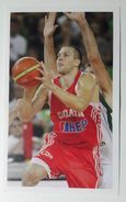 Slovenia Basketball Cards Stickers Nr.195 Slovenia Croatia EUROBasket - Stickers