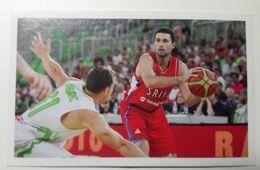 Slovenia Basketball Cards Stickers Nr.192 Saso Zagorac Slovenia : Serbia - Stickers