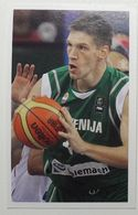 Slovenia Basketball Cards Stickers Nr. 135 Gasper Vidmar - Stickers