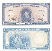 Chile - 1/2 Escudo 1962 - 1975 UNC Pick 134Aa Serie G 6 Ukr-OP - Chile