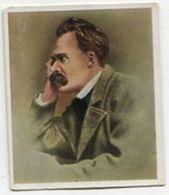 SB00974 Die Großen Der Weltgeschichte - Nr. 201 Friedrich Nietzsche - Cigarette Cards