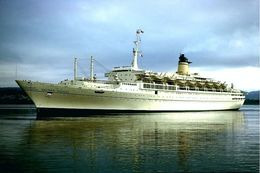 "Ship Postcards - Passenger   Ship : ""Galileo Galilei  ""   Read Description - Unclassified"