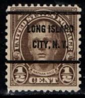 "USA Precancel Vorausentwertung Preo, Locals ""LONG ISLAND CITY"" (NY). - United States"