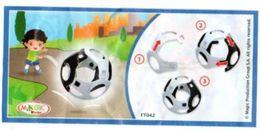 BPZ114 France : Ref : FT042 Série Balles / Balle Noire Et Blanche - Notices