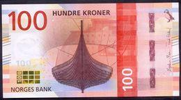 Norway 100 Kroner 2016 UNC P- 54 - Norwegen