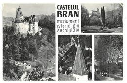 Romania Castelul Bran Monument Istoric Din Secolul XIV Non Viaggiata - Romania