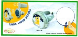 BPZ119 France : Ref : TR017B Série Bagues Tampons Loup - Notices