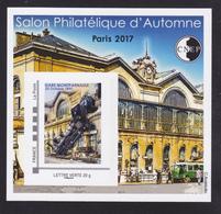 CNEP N° 75 NEUF ** MNH - SALON PARIS AUTOMNE 2017, Bloc Adhésif, TB - CNEP