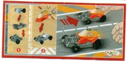 BPZ122 France : Ref : FT050A Série Voitures Hot Rod / Hot Rod Rouge N°26 - Instructions