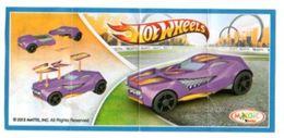 BPZ124 France : Ref : TR128 Série Hot Wheels / Voiture Violette - Notices