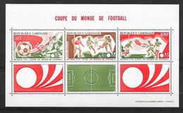 Gabon Bloc N° 23 Coupe Du Monde De Football Allemagne 1974  Neuf * * TB   = MNH    .VF ........soldé    ! ! - Coppa Del Mondo