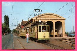 Tramways De Neuchâtel - Le Terminus De La Ligne 3 à Corcelles - Animée - A.U. MANN - NE Neuchatel
