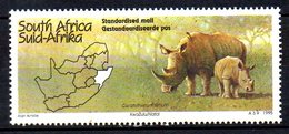 AFRIQUE DU SUD. N°870 De 1995. Rhinocéros. - Rhinozerosse