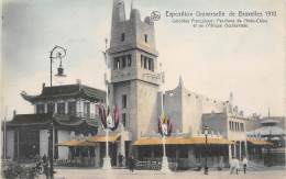 BRUXELLES - Exposition Universelle 1910 - Colonies Françaises : Pavillons De L'Indo-Chine Et De L'Afrique Occidentale - Exposiciones Universales