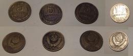 Russia 4 Monete 5 Copechi 1981 1985 1986 E 15 Copechi 1985 - Russia