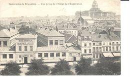 Bruxelles - CPA - Brussel - Panorama - Vue Prise De L'Hôtel De L'Esperance - Panoramische Zichten, Meerdere Zichten