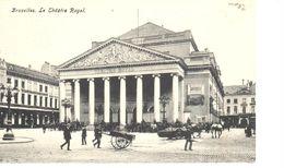 Bruxelles - CPA - Brussel - Le Théâtre Royal - Panoramische Zichten, Meerdere Zichten