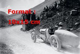 Reproduction D'une Photographie Ancienne D'une Bugatti Type 59 En 1927 - Reproductions