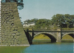 Postcard Niju Bashi Bridge Imperial Palace Tokyo My Ref  B22541 - Tokio