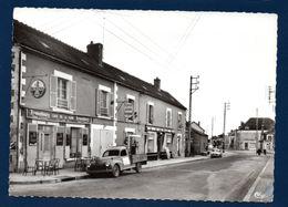 89. Moneteau. Café-Restaurant De La Gare. Pompe Shell. Journaux. Pub Bières Slavonia, Slavia, Kronenburg - Moneteau