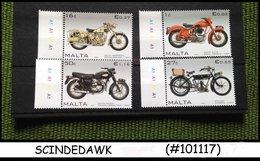MALTA - 2007 MOTORCYCLE / CYCLE - 4V SET - MINT NH - Auto's