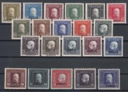 Austria Feldpost Occupation Of Serbia In WWI Serbien Overprint 1914/1916 Mi#1-21 Mint Hinged - 1850-1918 Empire