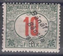Hungary Banat Bacska 1919 Porto Mi#3 Mint Hinged - Banat-Bacska