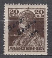 Hungary Banat Bacska 1919 Mi#21 Mint Hinged - Banat-Bacska