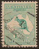 AUSTRALIA 1915 1/- Die II Roo SG 40 U #AIO352 - Usados