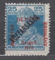 Hungary Szegedin Szeged 1919 Mi#24 Mint Hinged - Szeged