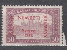 Hungary Szegedin Szeged 1919 Mi#13 Mint Hinged - Szeged