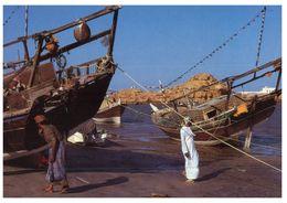 (175) Oman - Ship In Sur - Oman