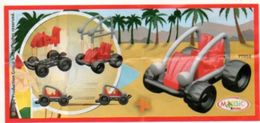 BPZ130 France : Ref : FT058 Série Voitures Buggy / Buggy Rouge - Handleidingen