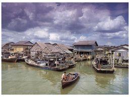 (175) Malaysia - Kukup Fishing Village On Stilts - Malaysia