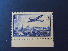 1936 -PA N°12 Outremer  - Bord De Feuille     Neuf,  Cote 45       Net    18 Euros - 1927-1959 Neufs