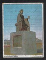 IRAQ Silver Shining Picture Postcard Abu Nawwas Statue Baghdad View Card - Iraq