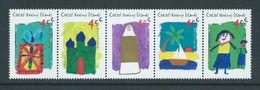Cocos Keeling Island 1998 Children's Drawings Hari Raya Strip Of 5 MNH - Cocos (Keeling) Islands