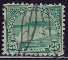 United States, 1922, Niagara Falls, 25c, Sc#568, Used - United States