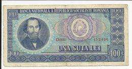 Romania 100 Lei - Russia