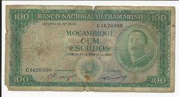 Portugal Moçambique 100 Escudos 1961 - Portugal