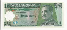 Guatemala 1 Quetzal 2012 UNC - Guatemala