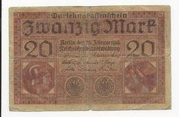 Germany 20 Mark 1918 - [ 2] 1871-1918 : German Empire