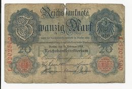 Germany 20 Mark 1914 - 20 Mark