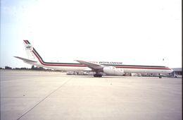 SLIDE / AVION / AIRCRAFT   KODAK  ORIGINAL    EMERY   DC 8  N791FT - Diapositive