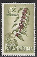 Papua   1958   Sc#146  5sh Coffee  MLH*  2016 Scott Value $11 - Papua New Guinea
