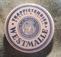 Pin Button Badge Ø38mm Trappistenbier WESTMALLE (bière) - Beer